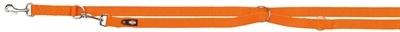 Trixie Trixie hondenriem premium verstelbaar nylon papaya oranje