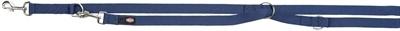 Trixie Trixie hondenriem premium verstelbaar nylon indigo blauw