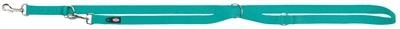 Trixie Trixie hondenriem premium verstelbaar nylon oceaan blauw