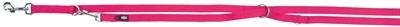 Trixie Trixie hondenriem premium verstelbaar nylon fuchsia