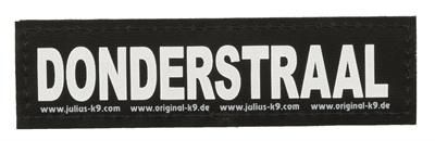Julius k9 Julius k9 labels voor power-harnas/tuig donderstraal