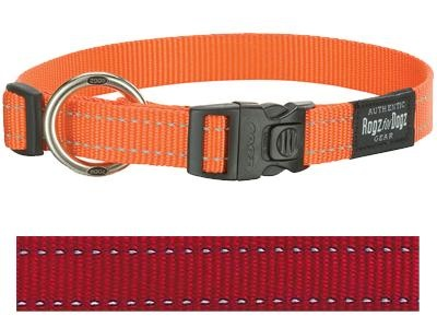 Rogz for dogs Rogz for dogs fanbelt halsband rood