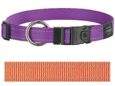 Rogz for dogs Rogz for dogs lumberjack halsband oranje