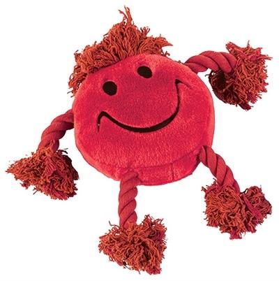 Happy pet Happy pet happy faces pluche smiley rood