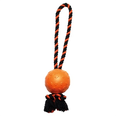 Happy pet Happy pet tough toys ball tugger oranje