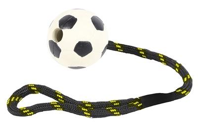 Happy pet Happy pet tough toys werptouw met rubber voetbal