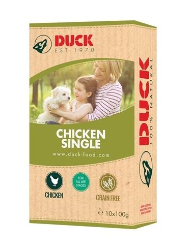 Duck Duck enkelvoudig kip