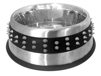 Croci Croci voerbak staal studs rubber