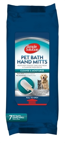 Simple solution Simple solution bathing mitts