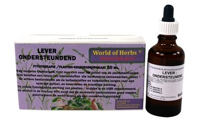 World of herbs World of herbs fytotherapie lever
