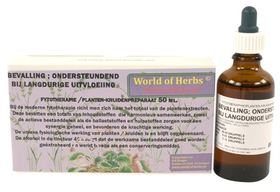World of herbs World of herbs fytotherapie bevalling bij langdureige uitvloeiing