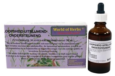 World of herbs World of herbs fytotherapie uitblijven loopsheid