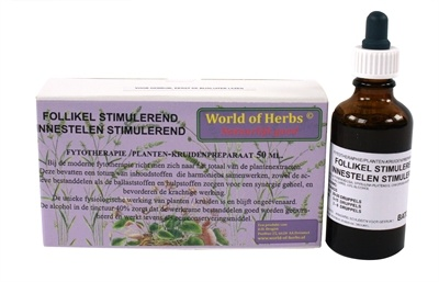 World of herbs World of herbs fytotherapie follikel stimulerend
