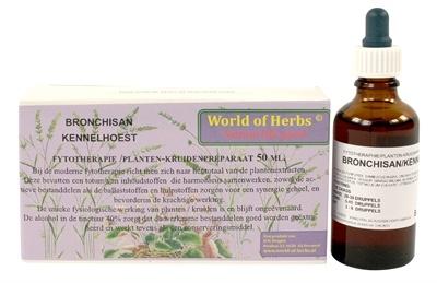 World of herbs World of herbs fytotherapie bronchisan kennelhoest