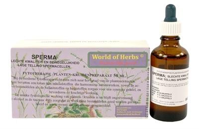 World of herbs World of herbs fytotherapie sperma