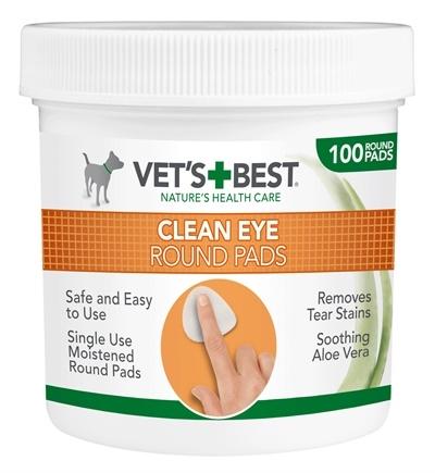 Vets best Vets best clean eye round pads