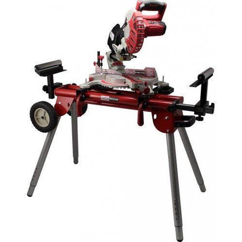 Lumberjack SCMS305DB Mitre Saw with Stand MSS200
