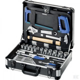 Tool sets with case or trolley