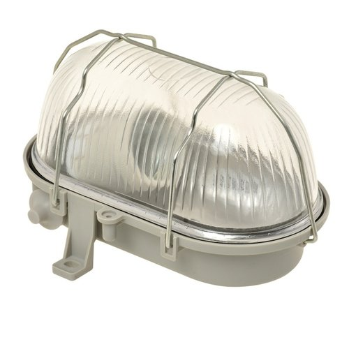 Nova Bulley glas 60W E27 grijs