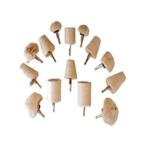 Weber Tools 14-delig Polijstborstel set - WT18069