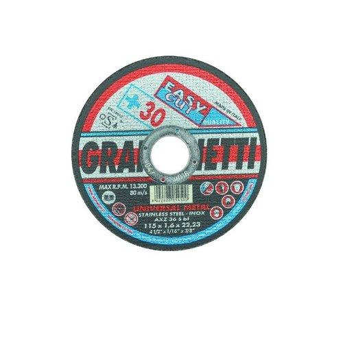 Grafietti Doorslijpschijf Ø115x 1mm (asgat 22,23mm) 10stuks - 714542