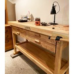 Lumberjack Woodworking Bench with 4 drawers - WB1520D4