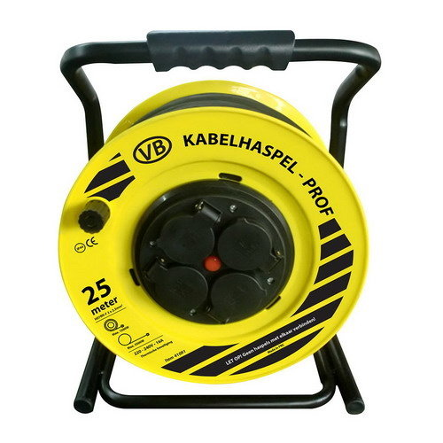VB Prof Cable reel - 25m  - 3x1.5mm² - 41093