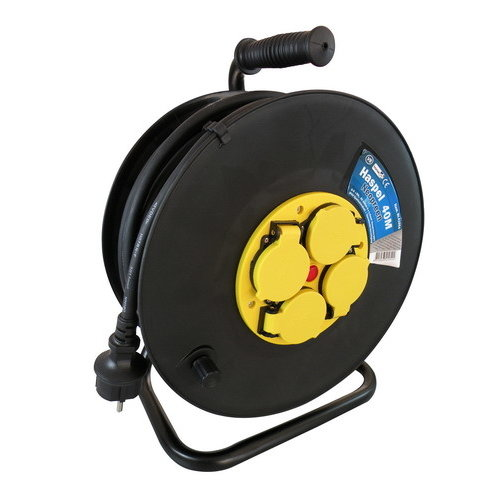 VB Cable reel 50m 3x1,5mm² H07 neoprene cord with thermal protection - 41054