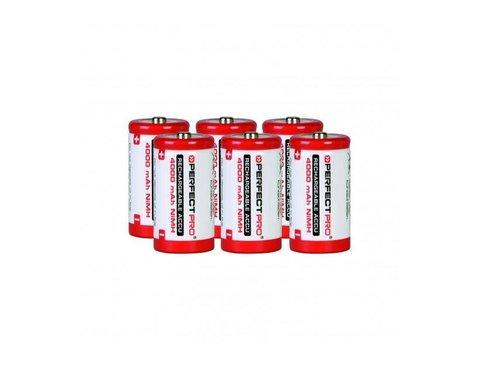 Perfectpro NiMH batterijen 6x C