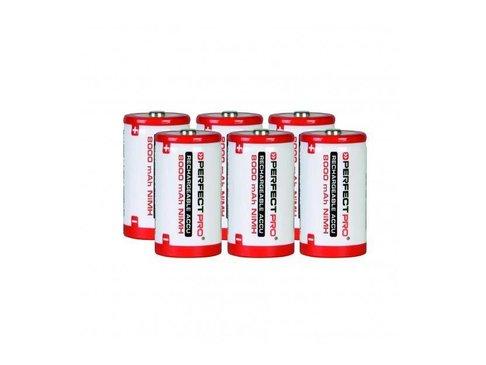 Perfectpro NiMH batterijen 6x D