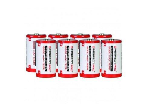 Perfectpro NiMH batterijen 8x D