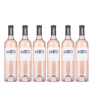 Les Vins Breban - Provence Frankrijk MED Rose IGP Mediterranee  (6 flessen)