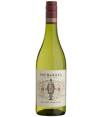 Fat Barrel - Wellington Zuid Afrika Fat Barrel Chardonnay