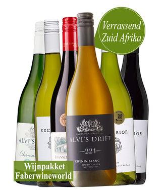 Wijnpakket verrassend Zuid Afrika