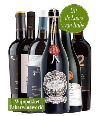 Wijnpakket Uit de Laars van Italie