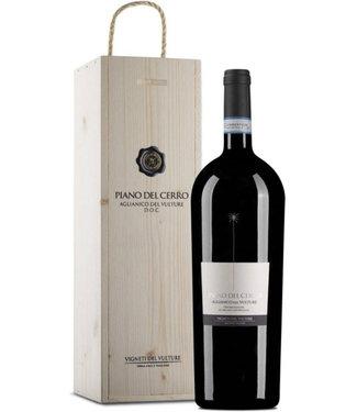 Farnese Vini - Ortona Chieti Italië Piano del Cerro Aglianico Wooden Case Magnum