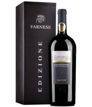 Farnese Vini - Ortona Chieti Italië Farnese Edizione Cinque Autoctoni Magnum in Geschenkdoos