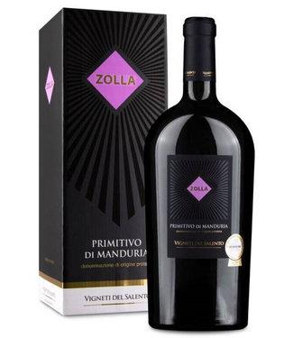 Farnese Vini - Ortona Chieti Italië Zolla Primitivo di Manduria Gift Box Magnum