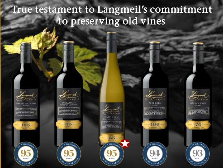 Hoge waarderingen voor ons Australisch wijnhuis Langmeil