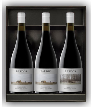Vintae - Rioja Spanje Bardos Romantica Reserva Giftpack 3 flessen