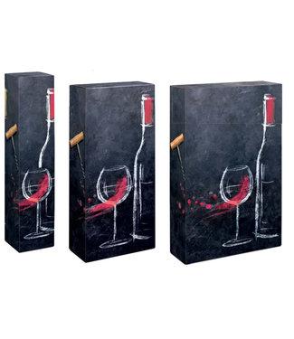 DiVino wijngeschenkdoos voor 1,2 of 3 wijnflessen