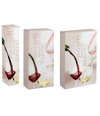 Prosit wijngeschenkdoos voor 1,2 of 3 wijnflessen