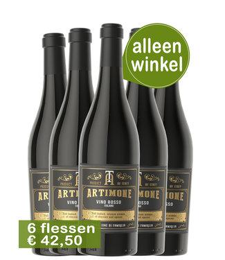 Artimone Vino Rosso wijnen (6 flessen)