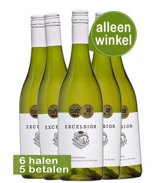 Excelsior Estate - Zuid Afrika Excelsior Zuid Afrikaanse witte wijnen (6 flessen)