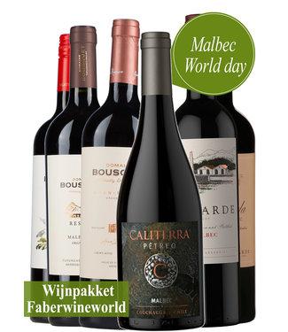 Wijnpakket Malbec World Day Argentinie