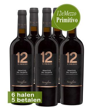 Varvaglione Vigne e Vini - Puglia Italië Varvaglione 12e Mezzo Primitivo (6 halen, 5 betalen)