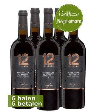 Varvaglione Vigne e Vini - Puglia Italië Varvaglione 12e Mezzo Negroamaro (6 halen, 5 betalen)