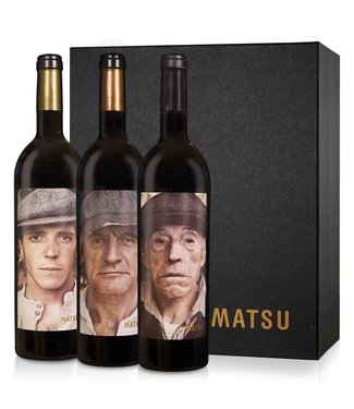 Vintae - Rioja Spanje Matsu Picaro-Recio-Viejo Giftpack