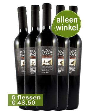 Cantine Lenotti - Veneto Italië Cantine Lenotti Rosso Passo IGT wijnen (6 flessen)