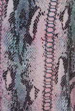 Dresskini Pink Grey Snake Print